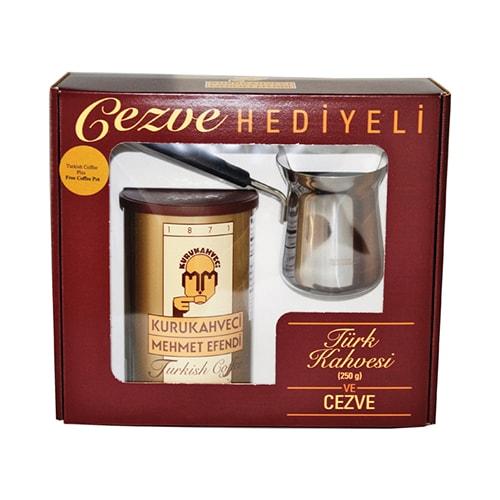 Mehmet Efendi Turkish Coffee (250Gr) W/free Pot