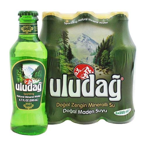 Buy Uludag Mineral Water (6 Pack) 200 ml Online