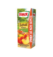 Tamek Fruit Juice Peach Orange (200 ml x 27 Pack)