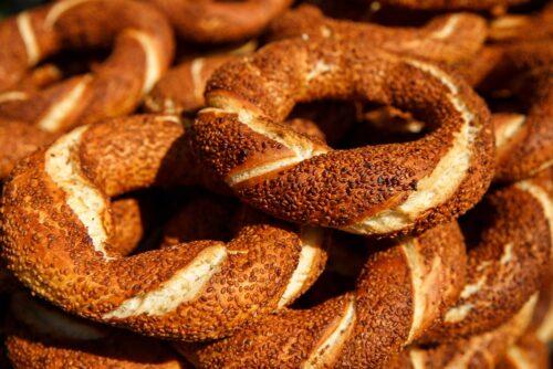 turkish simit bagel