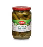 Berrak Gherkin Pickles (680 gr Glass)