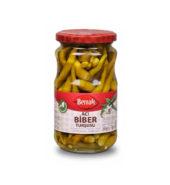 Berrak Hot Pepper Pickles (340 gr  Glass)