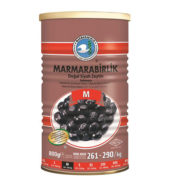Marmarabirlik Gemlik Black Olives M Super (800 gr) Can