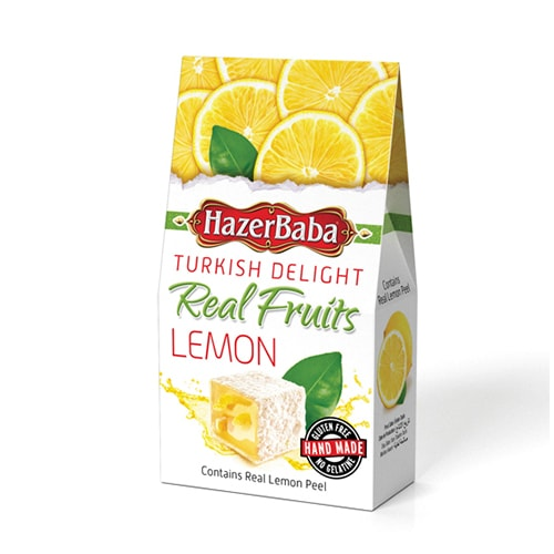 Hazerbaba Lemon Turkish Delight 100gr