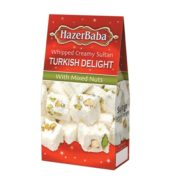 Hazerbaba Mixed Nuts Sultan Turkish Delight (100 gr)