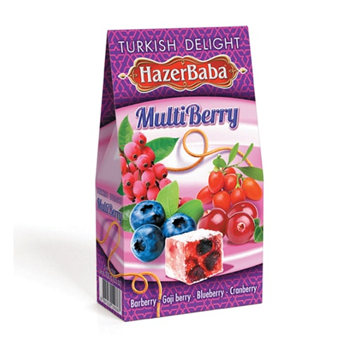 Hazerbaba Multiberry Turkish Delight 100gr