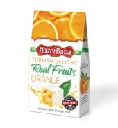 Hazerbaba Orange Turkish Delight (100 gr)