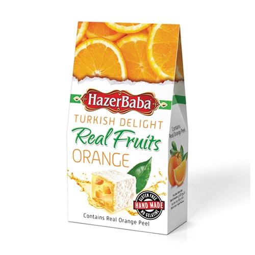 Hazerbaba Orange Turkish Delight 100gr