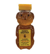 Honey Brother Clover Honey – Bears 12 oz Plastic