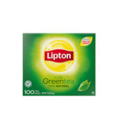 Lipton Green Tea Bags (100 Tea Bags)