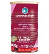 Marmarabirlik Gemlik Black Olives L Hiper Low Salt (800 gr) Can