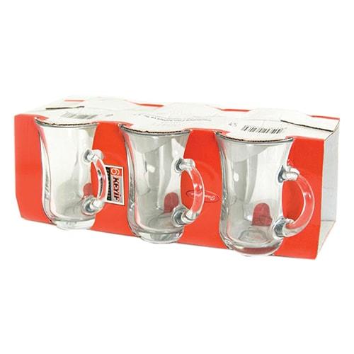Pasabahce Tea Glass W Handle Large