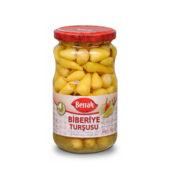 Berrak Baby Hot Pepper Pickles (340 gr  Glass)