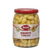 Berrak Baby Hot Pepper Pickles (650 gr  Glass)