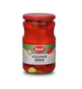 Berrak Roasted Pepper Whole (680 gr Glass)