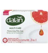 Dalan Pink Grapefruit & Caring Milk 2 in 1 Soap (3×90 gr)