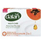 Dalan Rainbow Papaya & Caring Milk 2 in 1 Soap (3×90 gr)