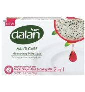 Dalan Tropic Dragonfruit & Caring Milk 2 in 1 Soap (3×90 gr)