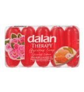 Dalan Wild Roses & Almond Oil Soap (5×70 gr)