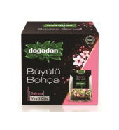 Dogadan Buyulu Bohca Sakura Green Tea (10 Tea Bags)